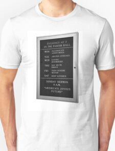 America's Joyous Future sign T-Shirt