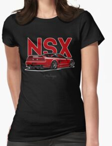 Acura / Honda NSX (red) Womens Fitted T-Shirt