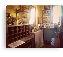 The Vintage Post Office Canvas Print