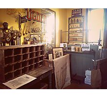 The Vintage Post Office Photographic Print