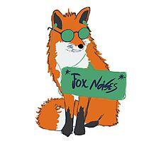 Fox Noises Photographic Print