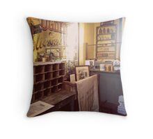 The Vintage Post Office Throw Pillow