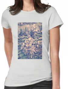 Winter bloom Womens Fitted T-Shirt