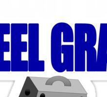 feel grate Sticker