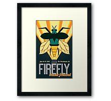 Firefly 2016 Framed Print