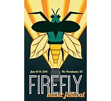 Firefly 2016 Photographic Print