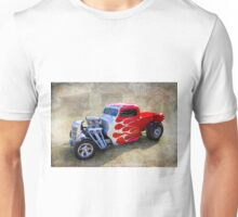 Flamed Pickup Unisex T-Shirt