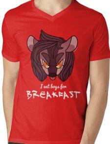 I eat boys for BREAKFAST! Mens V-Neck T-Shirt