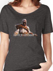 KRATOS RETURNS - NEW GOD OF WAR Women's Relaxed Fit T-Shirt