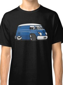 VW T1 panel van cartoon blue Classic T-Shirt