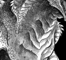 King of Beasts - On Black Sticker