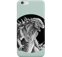 King of Beasts - On Black iPhone Case/Skin