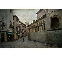 Calles de Segovia Photographic Print