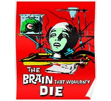 The brain that wouldn't die colour Poster