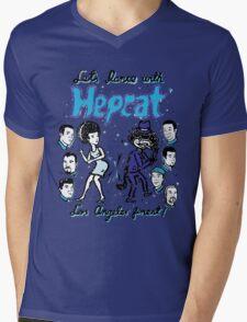 Dance With Hepcat Mens V-Neck T-Shirt