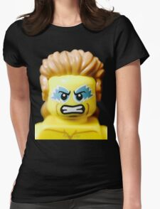 Lego Wrestling Champion Womens Fitted T-Shirt