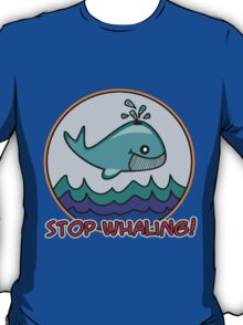 Stop whaling! T-Shirt