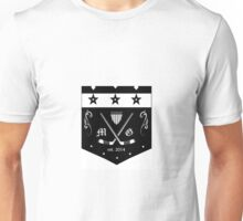 modern gentleman hockey club Unisex T-Shirt