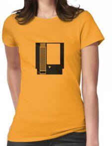 Minimal NES Cartridge Womens Fitted T-Shirt