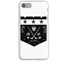 modern gentleman hockey club iPhone Case/Skin