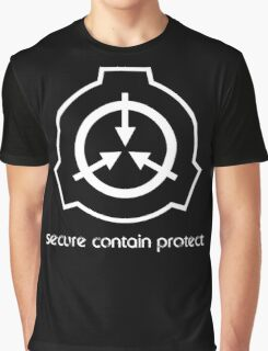 Secure Contain Protect Graphic T-Shirt