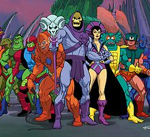 Evil Warriors Filmation Style by santalux