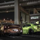 Liberty Walk Pair by Explosive Curiosity