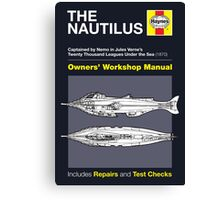 Haynes Manual - The Nautilus - Poster & stickers Canvas Print