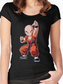 Dragon Ball Krillin Women's Fitted Scoop T-Shirt