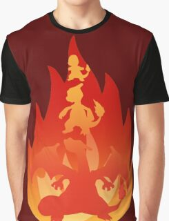 Charmander-meleon-izard Graphic T-Shirt