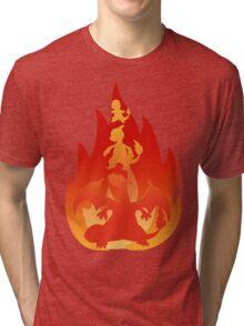 Charmander-meleon-izard Tri-blend T-Shirt