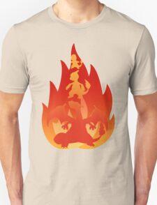 Charmander-meleon-izard Unisex T-Shirt