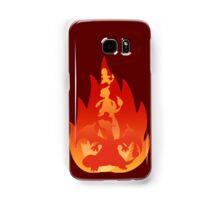Charmander-meleon-izard Samsung Galaxy Case/Skin