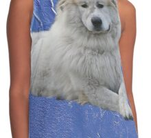 Pyrenees mountain dog Contrast Tank