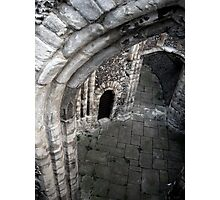 An arch, in a wall, in London Photographic Print
