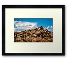Rocas de Oro Grandes  Framed Print