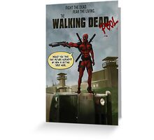 TWD feat DP Greeting Card