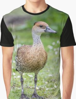 Brown Duck Graphic T-Shirt
