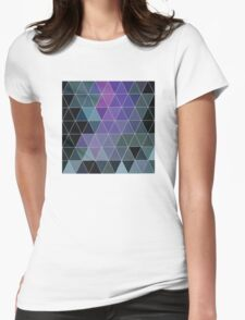 A Touch Of Purple Womens Fitted T-Shirt