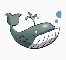 Big Whale  One Piece - Long Sleeve