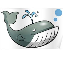 Big Whale  Poster