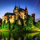 The romantic night of Bojnice castle by Zoltán Duray