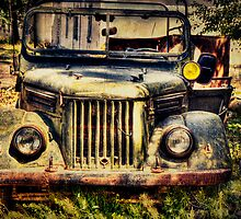 Old Soviet Military Jeep by Kadwell