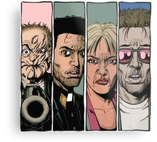 Arseface, Jesse, Tulip and Cassidy from Preacher Metal Print