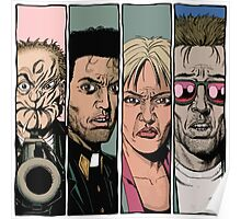 Preacher :Arseface, Jesse, Tulip and Cassidy Poster