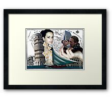 Dreaming about Pisa Framed Print