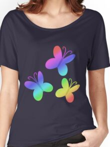 MLP - Cutie Mark Rainbow Special - Fluttershy Women's Relaxed Fit T-Shirt