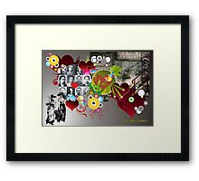 Love you, Chekov Framed Print