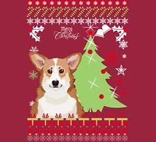 Corgi Ugly Christmas Sweater Long Sleeve T-Shirt