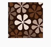 Abstract Flowers Browns & Creams Unisex T-Shirt